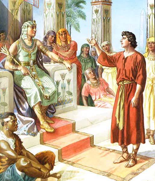 Иосиф толкует сны фараона