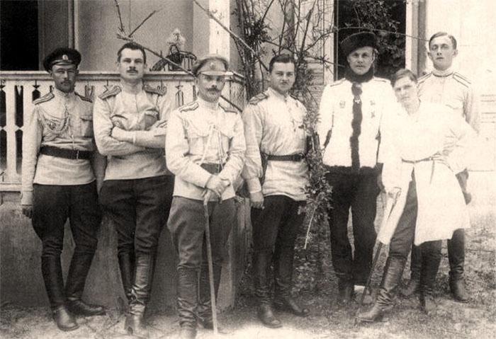 Командир Крымского корпуса генерал-лейтенант Я. А. Слащев