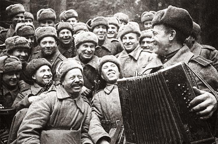 Концерт на фронте