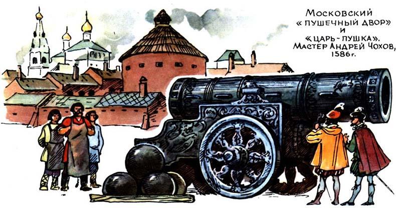 Московский пушечный двор и Царь-пушка