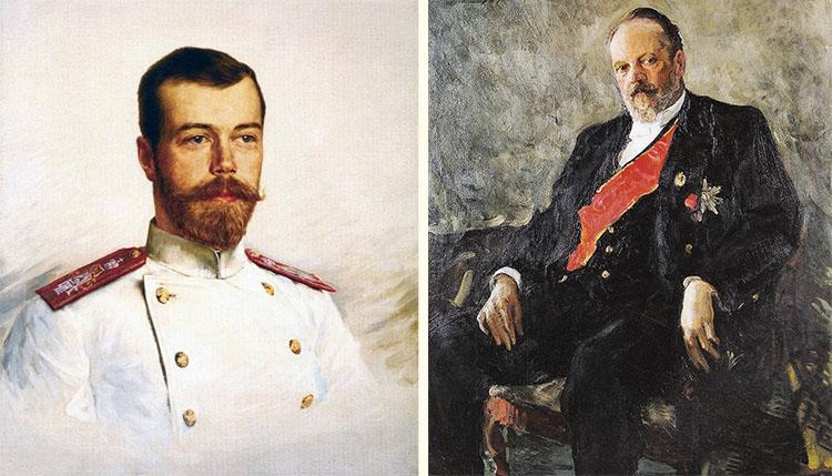 Николай II и Сергей Витте