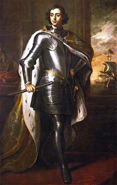 Портрет Петра Великого кисти Кнеллера