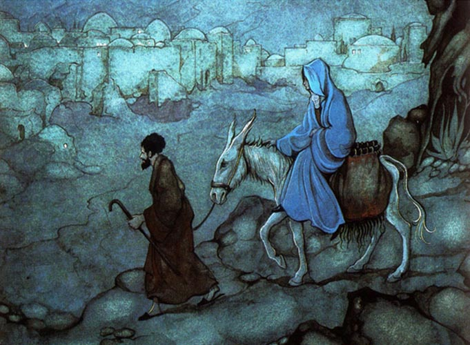 Пресвятая Дева Мария и Иосиф Обручник