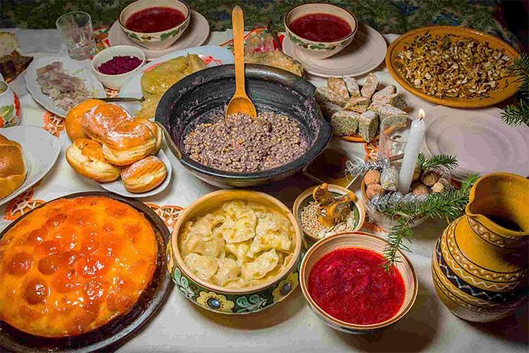 Рождественские блюда