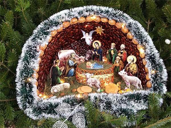 Рождественский вертеп своими руками