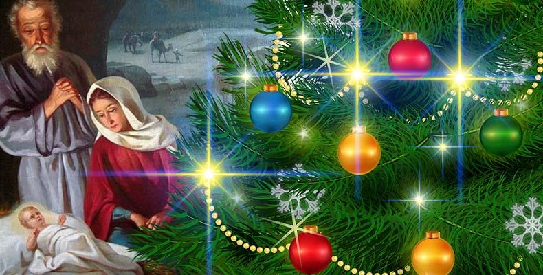Рождество Христово и елка