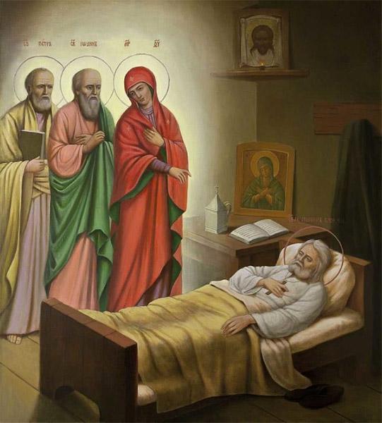 Явление Пресвятой Богородицы преподобному Серафиму Саровскому