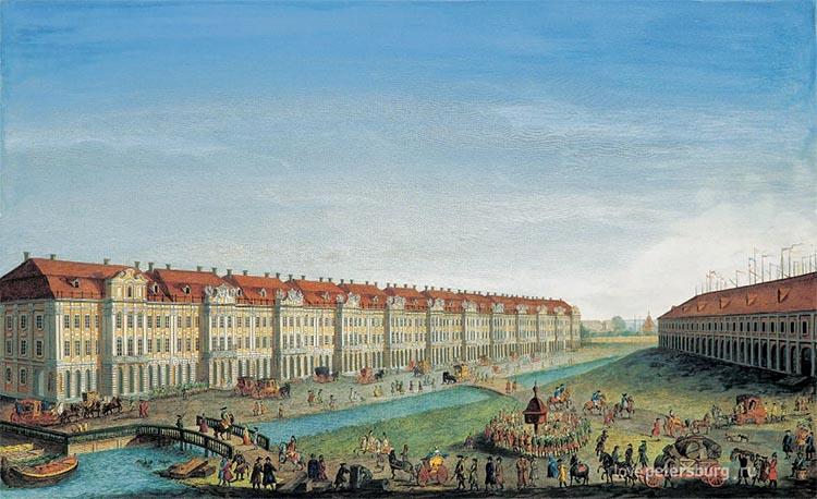 Здание Петербургского университета