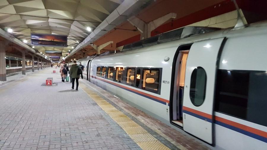 Поезд в С-Петербург