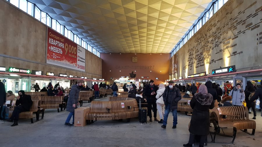 Питерский вокзал