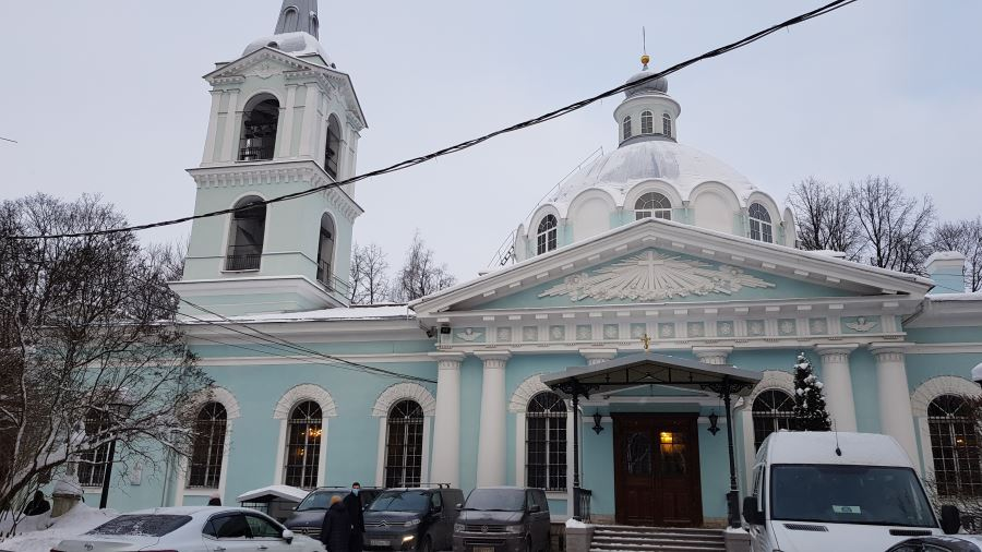 Смоленская церковь, которую строила блаженная Ксения