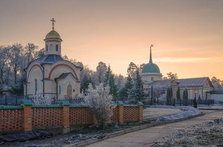 Часовня Оптинских новомучеников