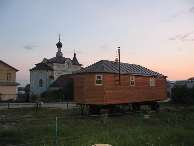 Передвижной храм на колесах