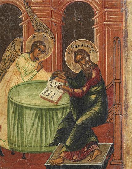 Праведный Симеон Богоприимец и ангел