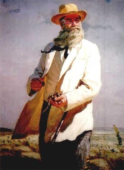 Василий Докучаев в поле