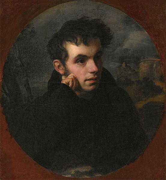 Василий Жуковский в молодости