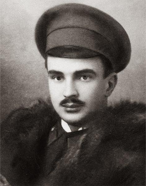 Виталий Бианки в молодости