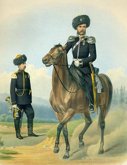 Конные полки Забайкальского казачьего войска