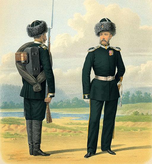 Пешие батальоны Амурского казачьего войска