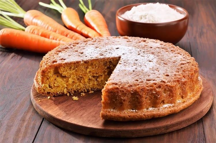Постный пирог «Морковушка»