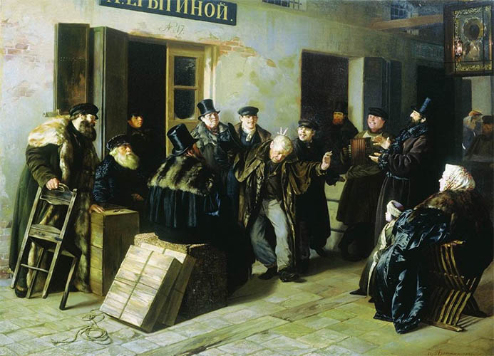 «Шутники. Гостинный двор в Москве»