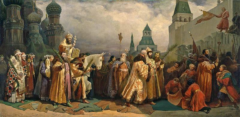 Вербное Воскресенье в Москве в царствование Алексея Михайловича