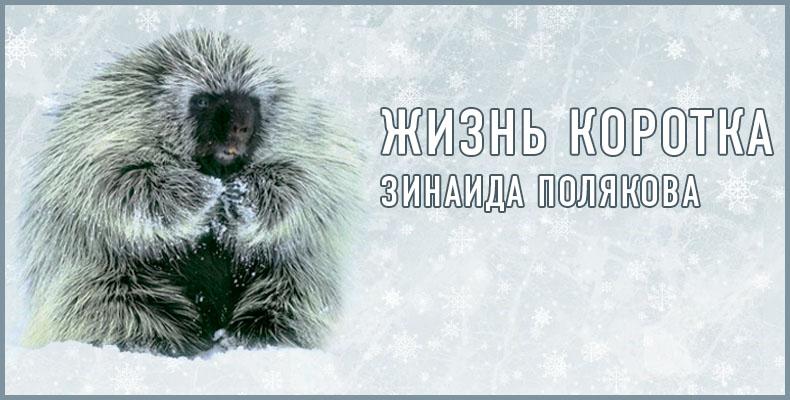 Жизнь коротка. Зинаида Полякова