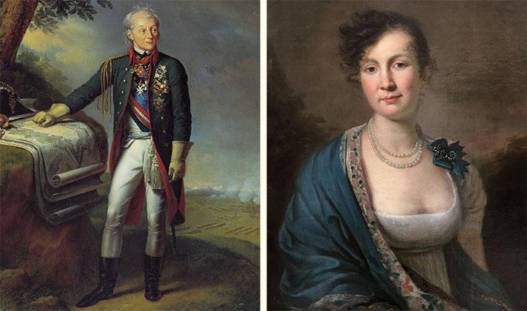 Александр Суворов и Наталья Суворова