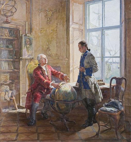 Чичагов и Ломоносов