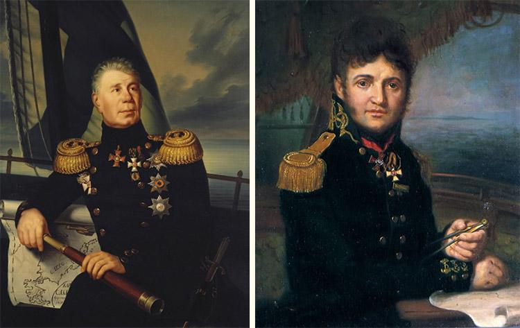 Крузенштерн и Лисянский