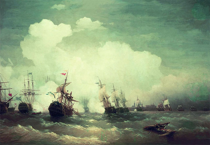 Морское сражение при Ревеле (9 мая 1790)