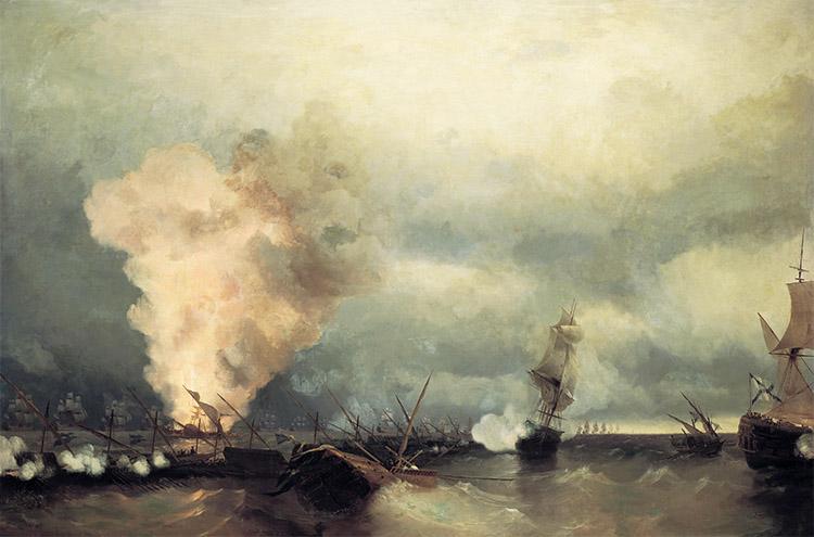 Морское сражение при Выборге 22 июня 1790 года