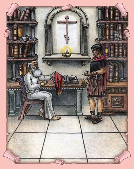 Мудрец Миос и воин
