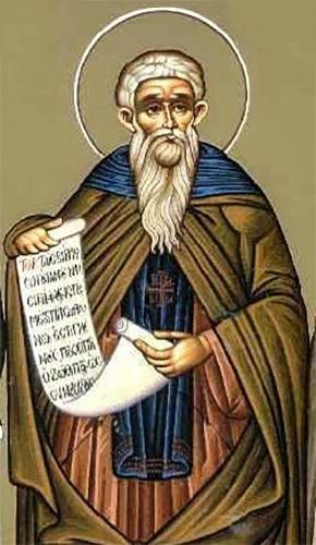 Преподобный Феофан Сигрианский, Исповедник