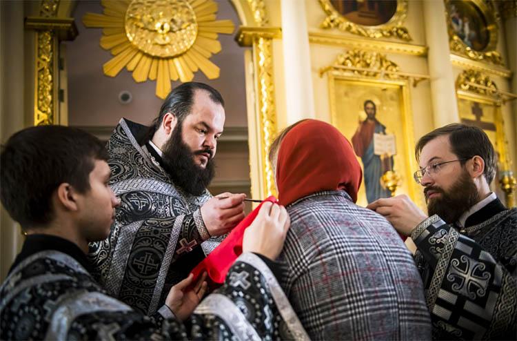 Причащение на Литургии Преждеосвященных Даров