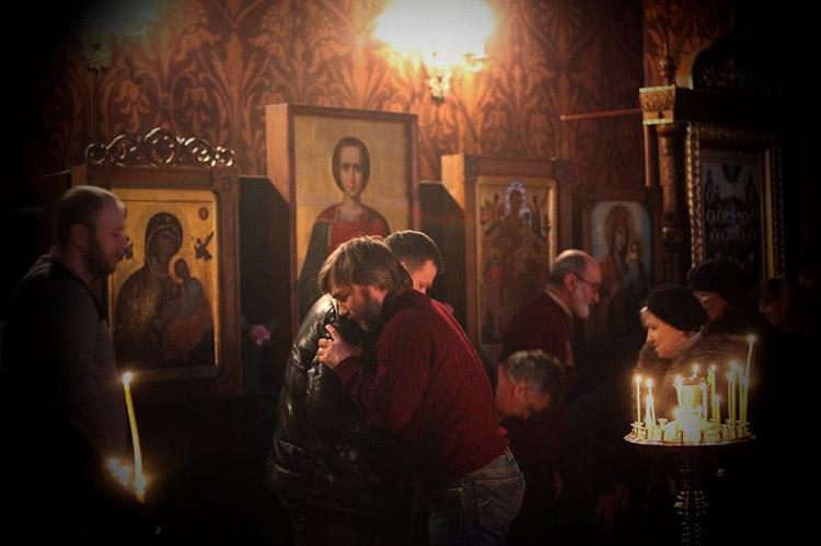Прощенное Воскресенье в храме