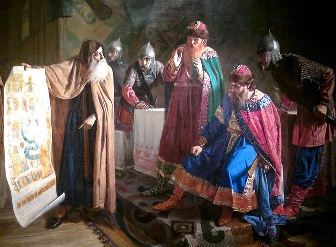 Равноапостольный князь Владимир Великий и завеса Страшного Суда