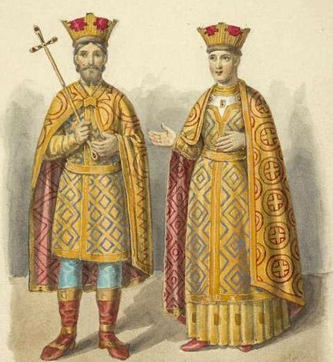 Василий I и Софья Витовтовна