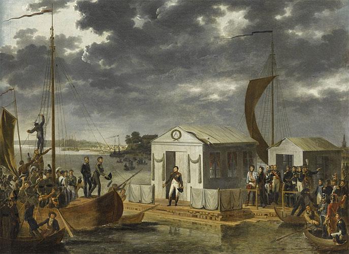 Встреча Наполеона I и Александра I на Немане
