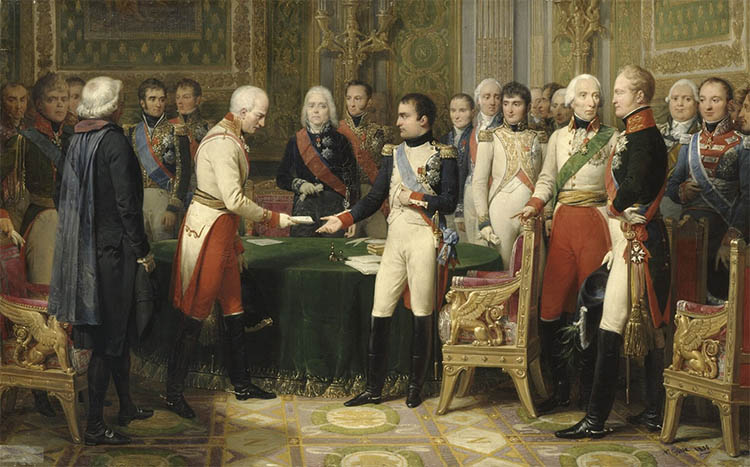 Встреча Наполеона с Александром в Эрфурте