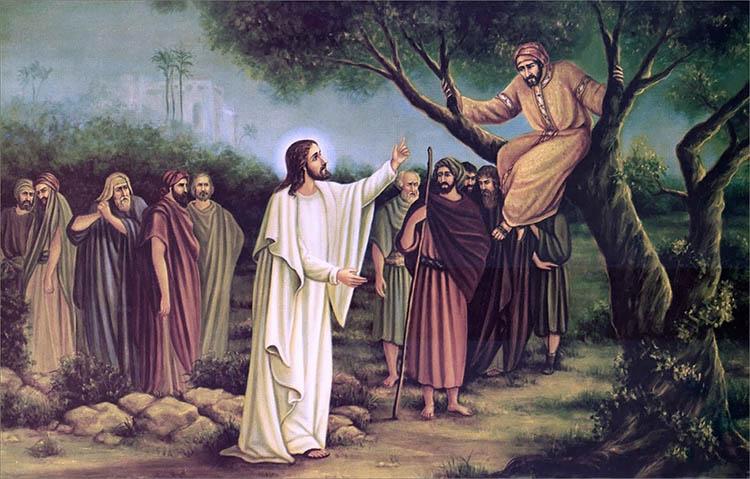 Закхей и Христос