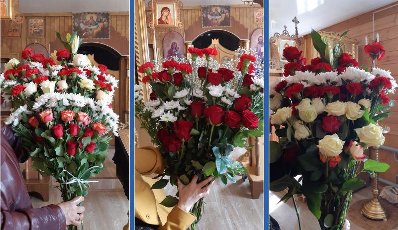 Цветы к Празднику Пасхи Христовой!