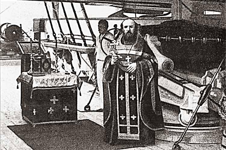 Флотский священник