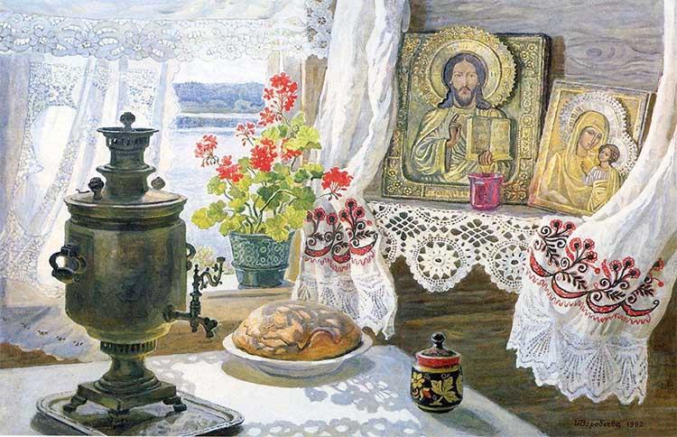 Хлеб и иконы