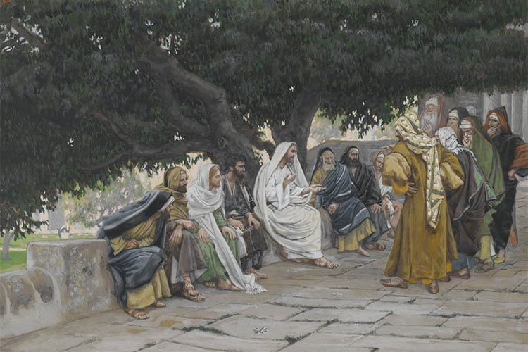 Христос и фарисеи