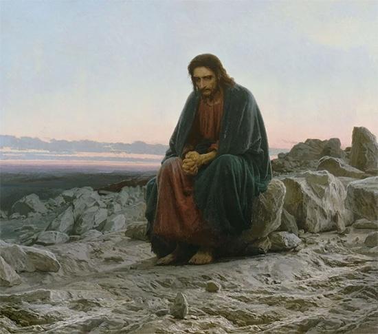 Христос на горе