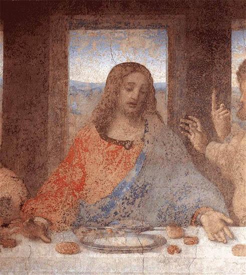 Иисус Христос (Фреска Леонардо да Винчи)