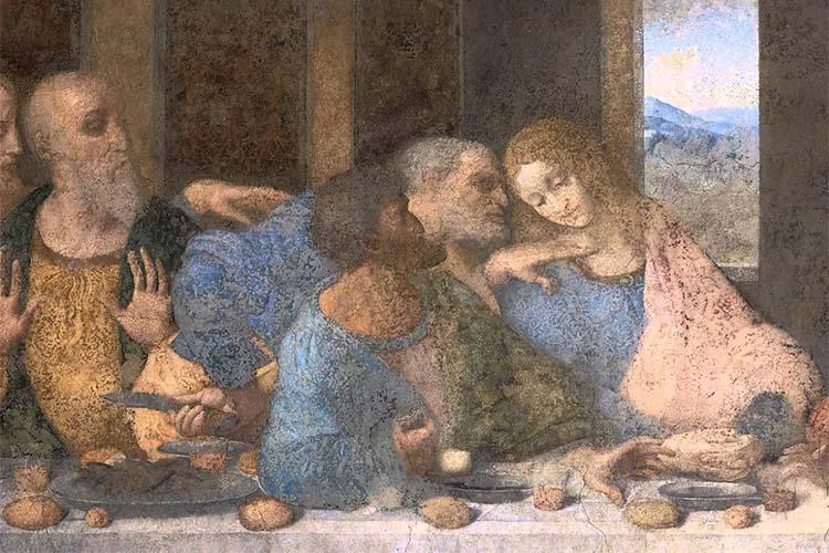 Иуда (Фреска Леонардо да Винчи)