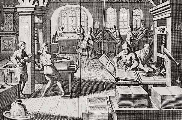 Книгопечатание (гравюра)
