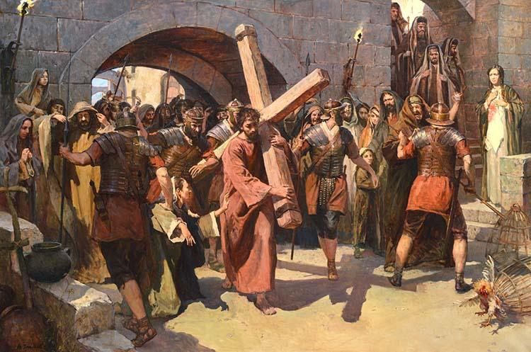 Крестный путь Христа